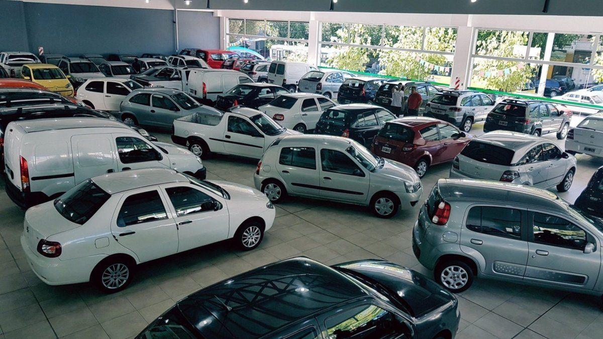 Le venta de autos usados cayó 16,47% en marzo