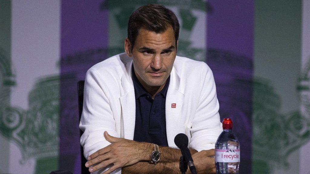 Roger Federer le descubrió una mentira a un periodista y lo expuso en una conferencia de prensa