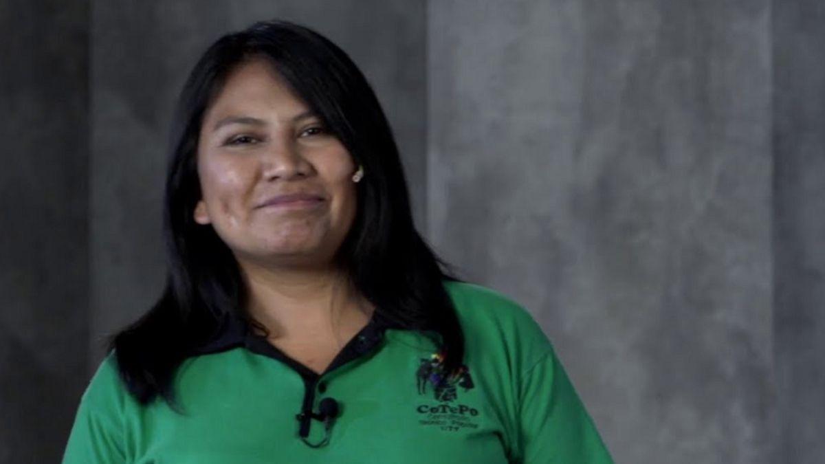 Delina Puma llegó a la Argentina a los 14 a trabajar en las quintas de La Plata. Gracias a la agroecología la convocaron para dar una charla TEDx.