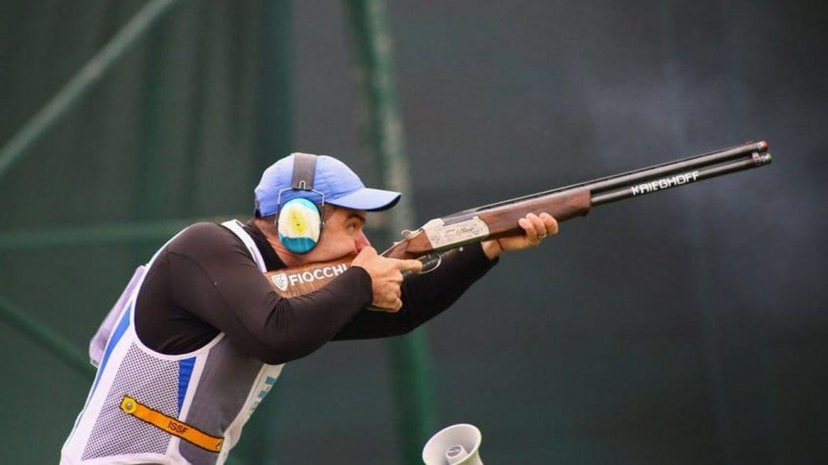 Federico Gil fue uno de los mejores en la primera jornada de skeet (tiro) de los Juegos Olímpicos Tokio 2020.