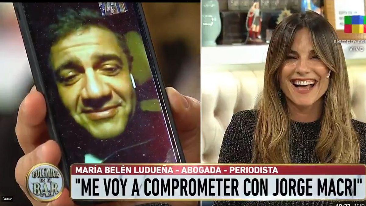 La propuesta de boda de Jorge Macri a Belén Ludueña: ¡Al aire!