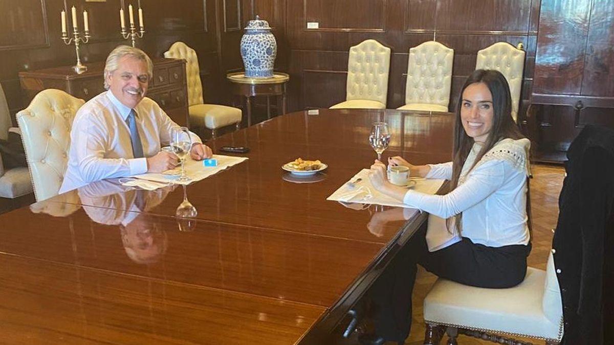 Alberto Fernández: Quién es la artista mendocina Florencia Aise que almorzó con el Presidente