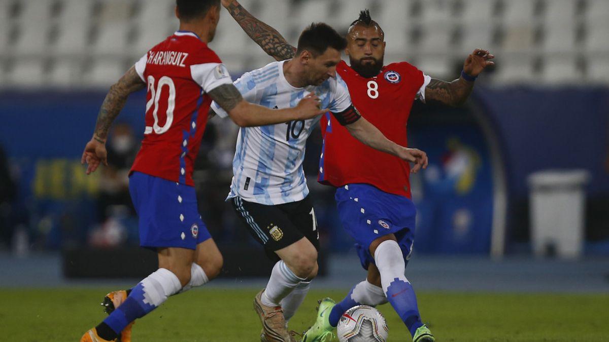 Argentina suma 3 empates seguidos.