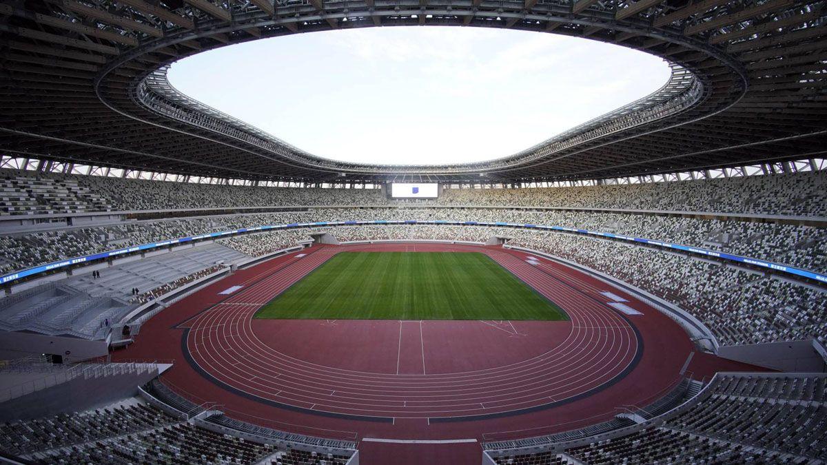 El Estadio Olímpico de Tokio está listo para ser el escenario deportivo más importante de los Juegos.