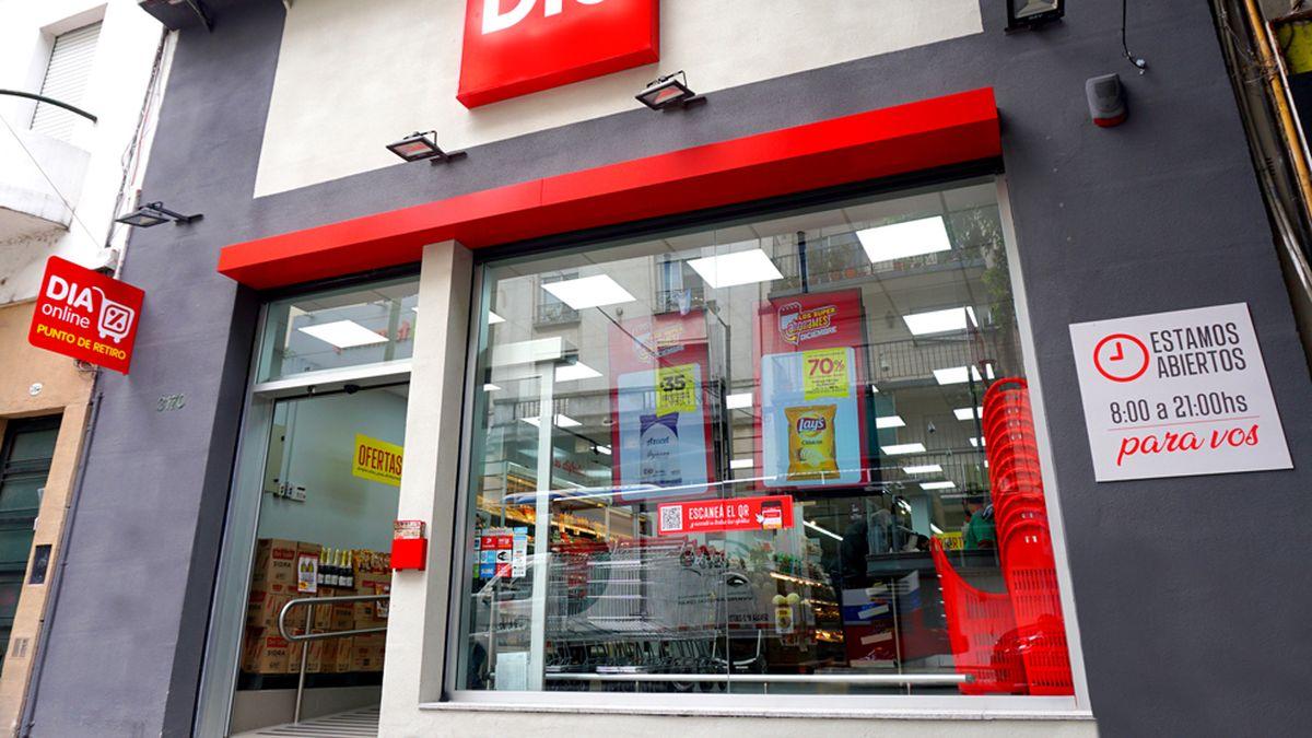 Supermercados DIA: casi el 70% de las tiendas son franquicias.