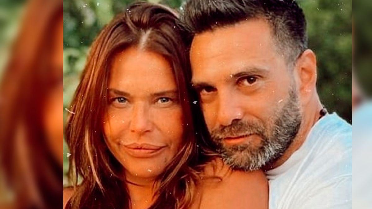 El look de Nazarena Vélez y su pareja en el casamiento de su hija