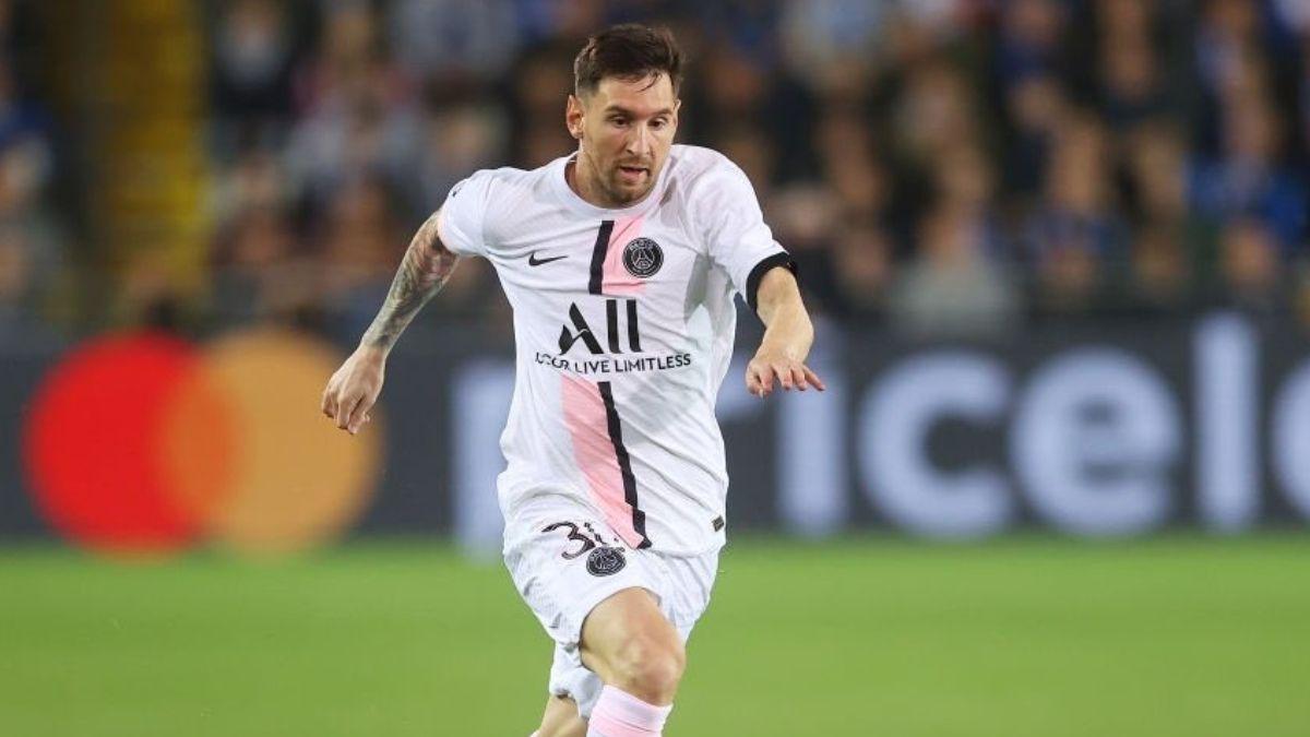 Leo Messi tuvo un buen debut con PSG y estuvo a nada de marcar.