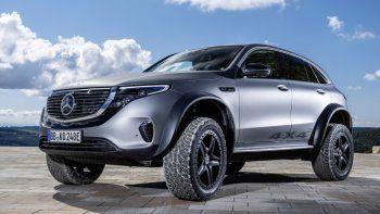 Eléctrico y aventurero al extremo: Así es el show car Mercedes-Benz EQC 4x4²