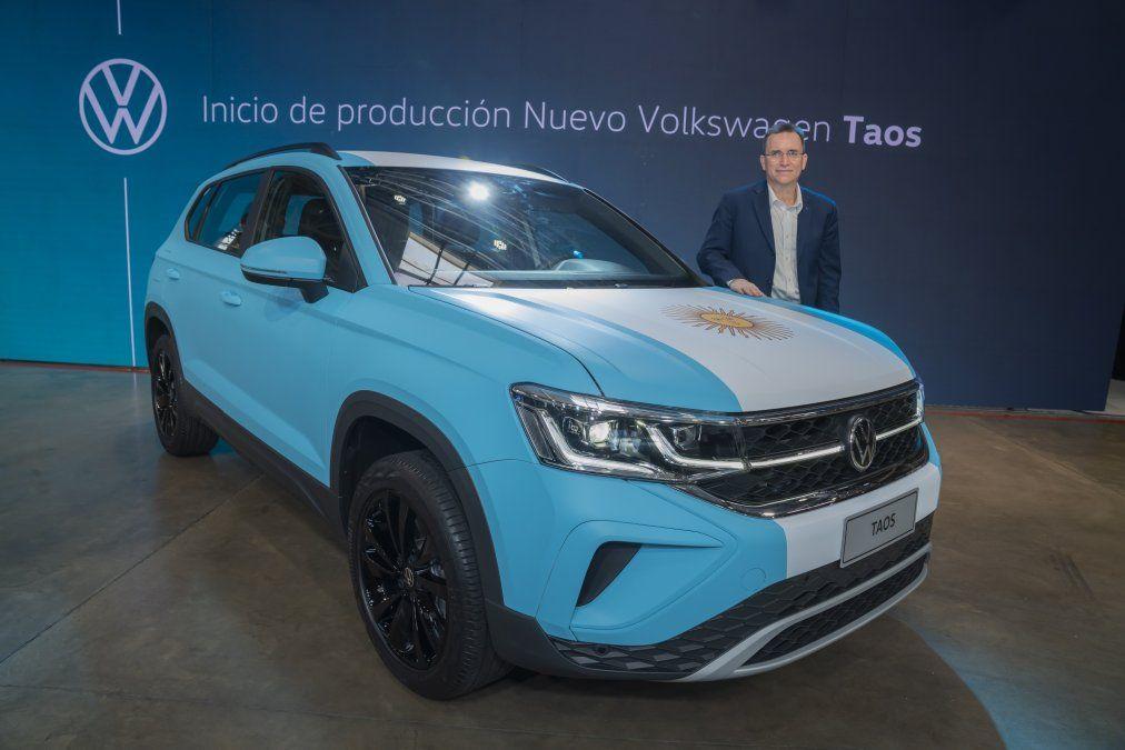 El Volkswagen Taos implicó una inversión de u$s 650 millones para el Centro Industrial Pacheco
