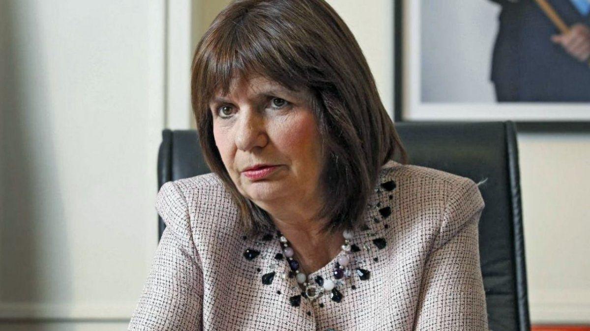 Patricia Bullrich se desligó de la denuncia del envío de armamento bélico a Bolivia (Foto: Telam).