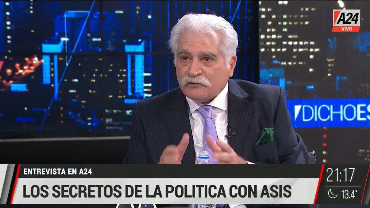 Jorge Asís: En el Frente de todos la pugna es por no ser