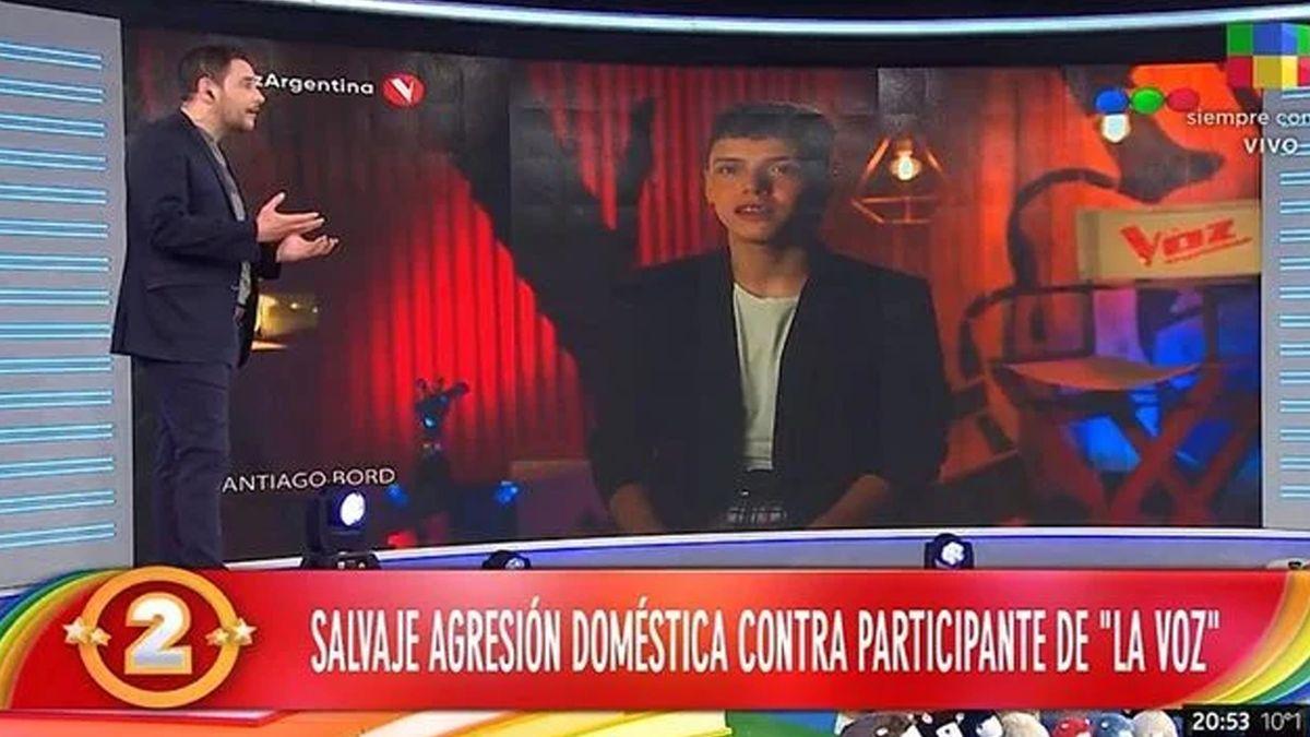 Rodrigo Lussich reveló la terrible agresión que recibió un participante de La Voz Argentina
