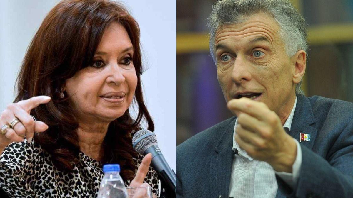 Cristina Kircher y Mauricio Macri.