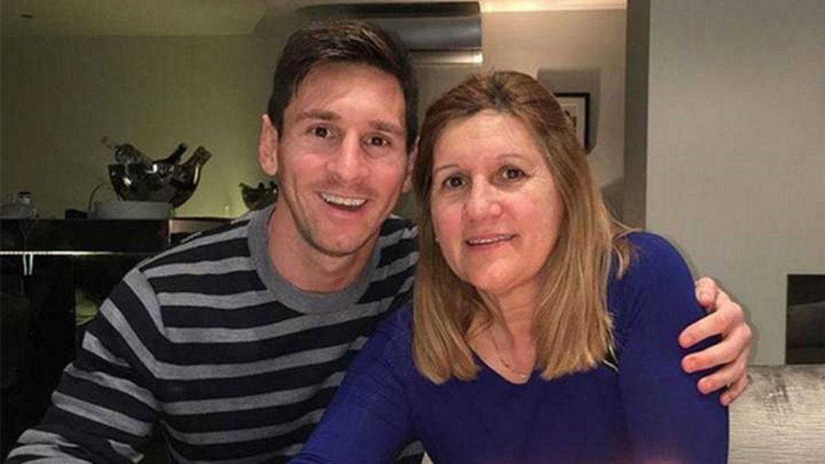 La mamá de Lionel Messi pide pista en la televisión