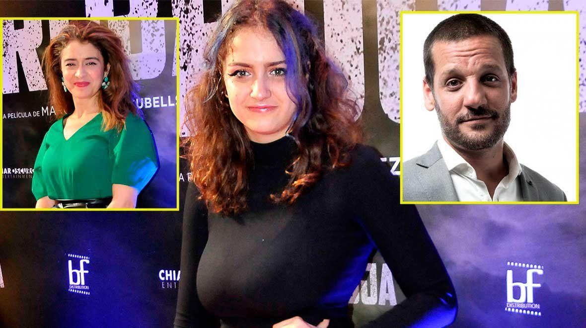 Igualita a sus padres: Miranda, la hija de Érica Rivas y Rodrigo de la Serna, debutó en el cine