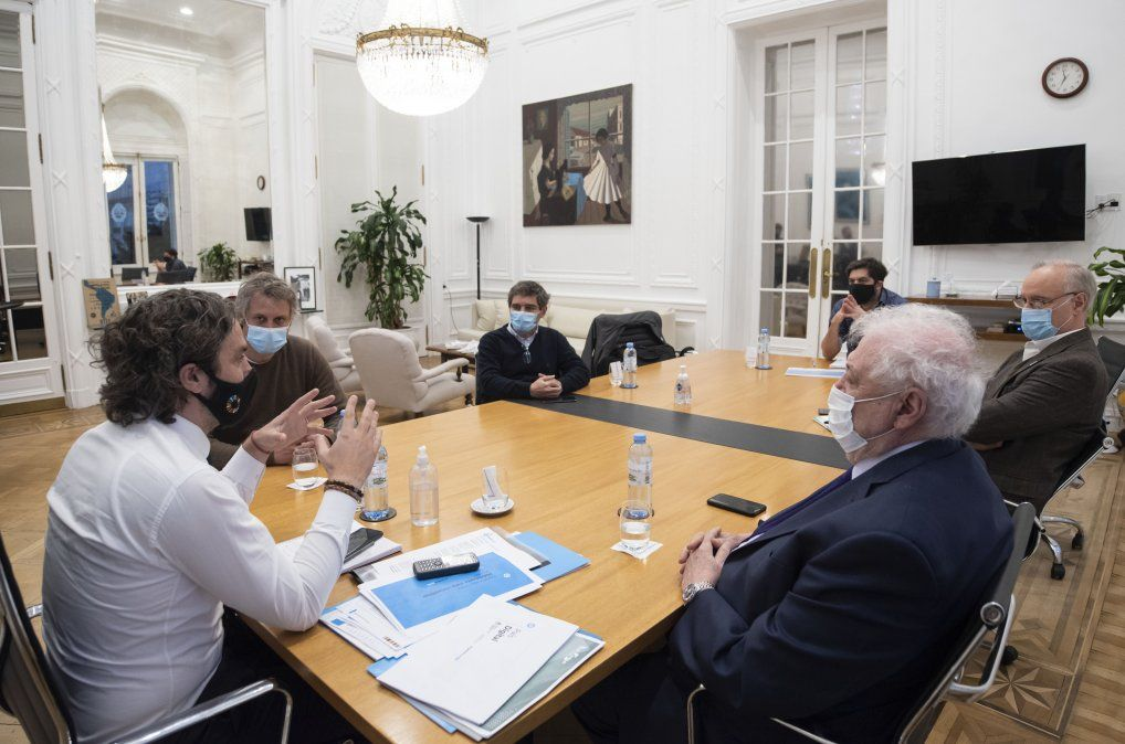 Santiago Cafiero esta vez recibirá a sus pares de CABA y Provincia con Carla Vizzotti como ministra de Salud. La primera reunión había sido con el ex ministro Ginéz González García.