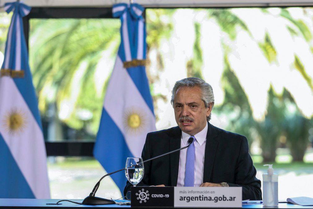 El presidente Alberto Fernández permanece aislado preventivamente en la residencia de Olivos