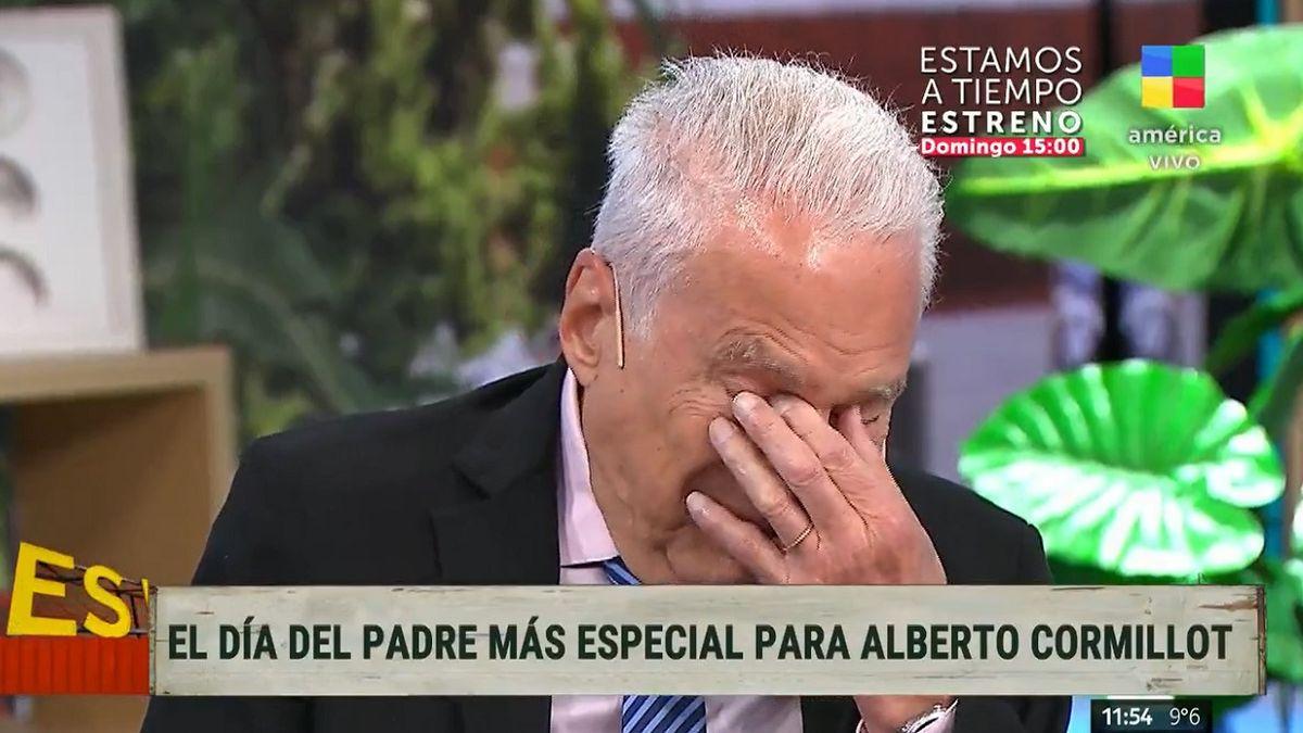 El conmovedor llanto de Alberto Cormillot a poco del día del padre
