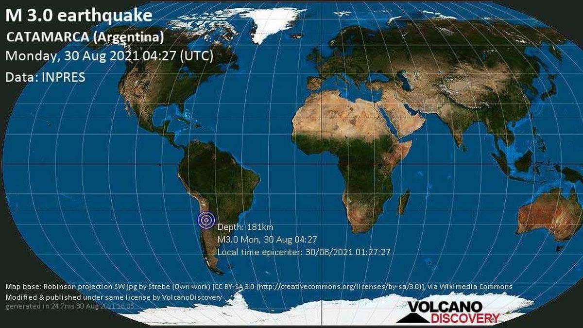 Tembló Catamarca. ¿Cuál es la diferencia entre un sismo superficial y un terremoto?