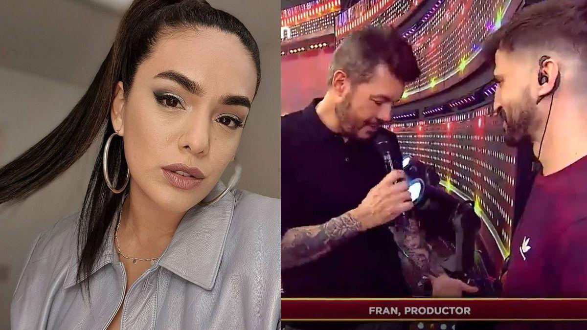 ¿Qué pasa entre Ángela Leiva y un productor de Marcelo Tinelli?