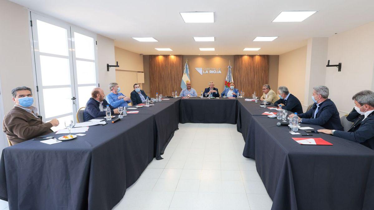 Alberto Fernández en La Rioja: Mis candidatos son los candidatos de los gobernadores.