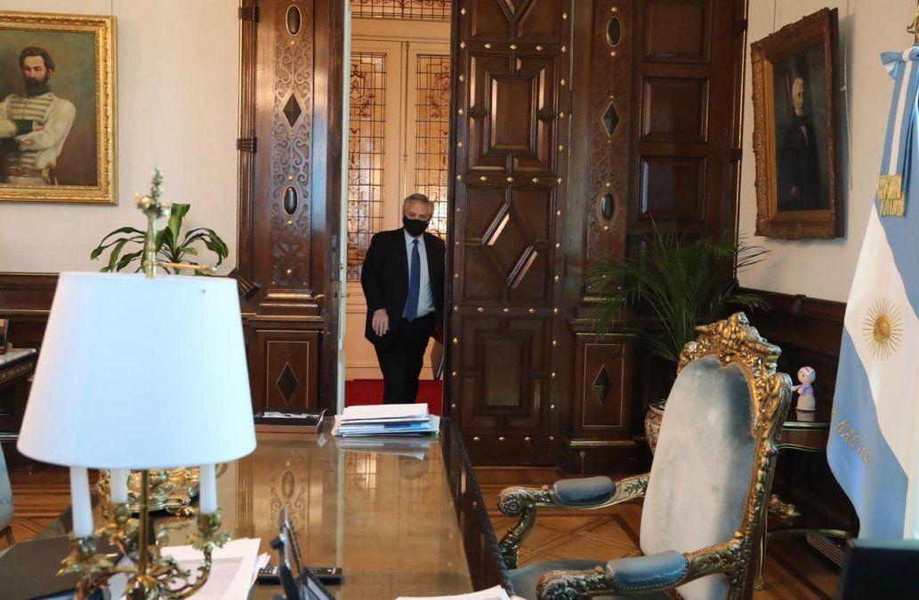 El presidente Alberto Fernández redefine su agenda en medio de la crisis de gabinete. (Foto: Archivo)
