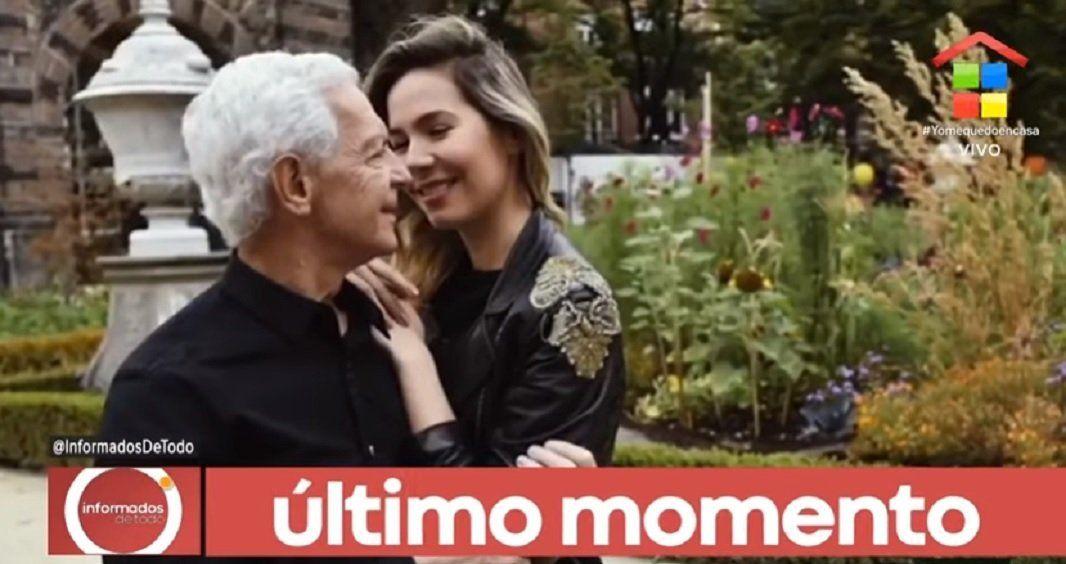 Elina Fernández se refirió a la versión de que estaría esperando un hijo con Eduardo Costantini