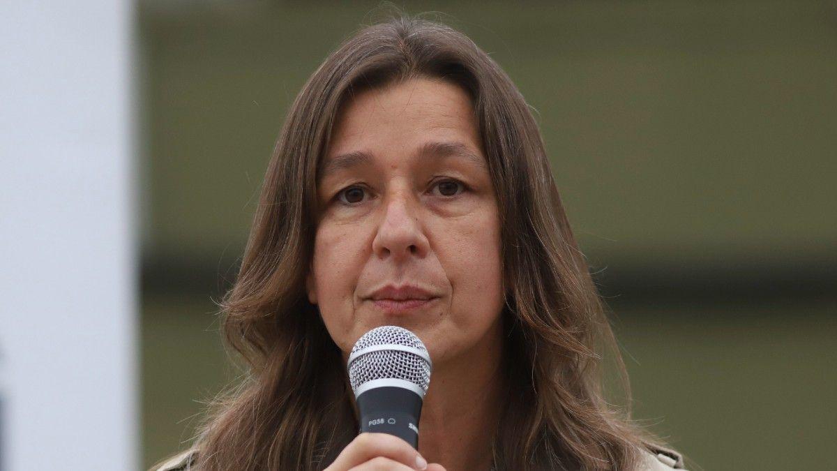 Se despidió Sabina Frederic