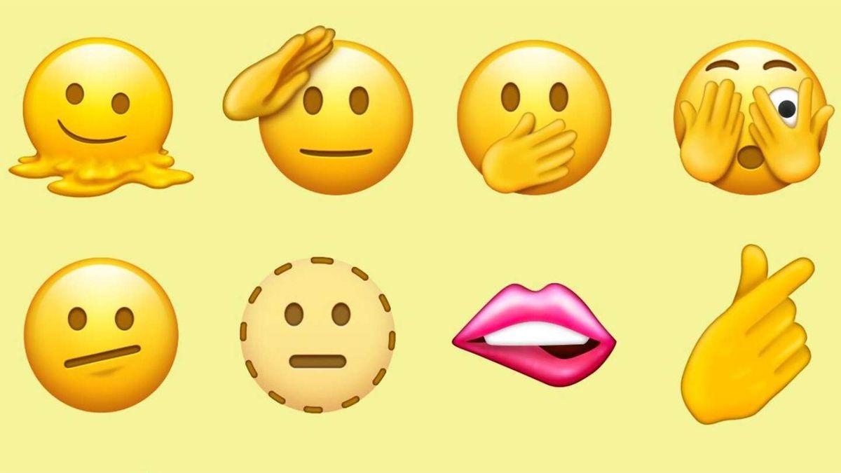 Los 37 nuevos emojis que llegarán en 2022