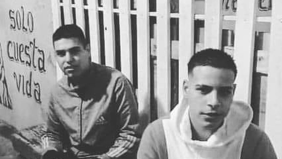 Nahuel Farías y Agustín Rosas fueron los jóvenes que perdieron la vida.