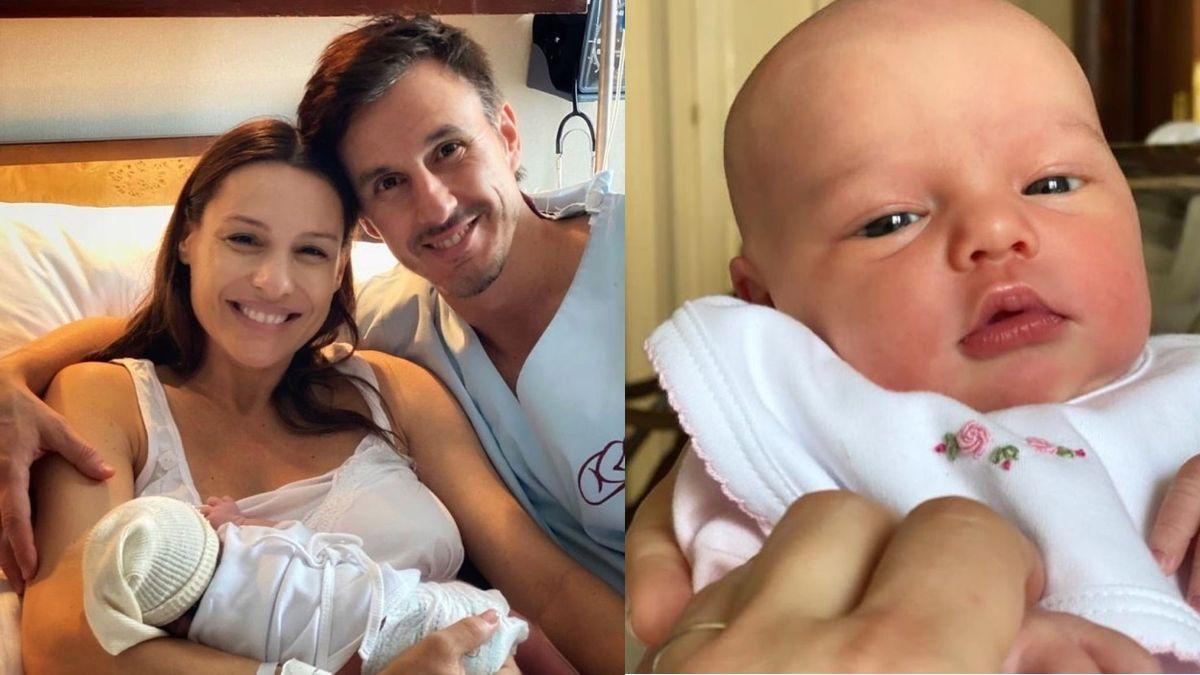 Ana, la beba de Pampita, ya festejó su día y definió su club de fútbol