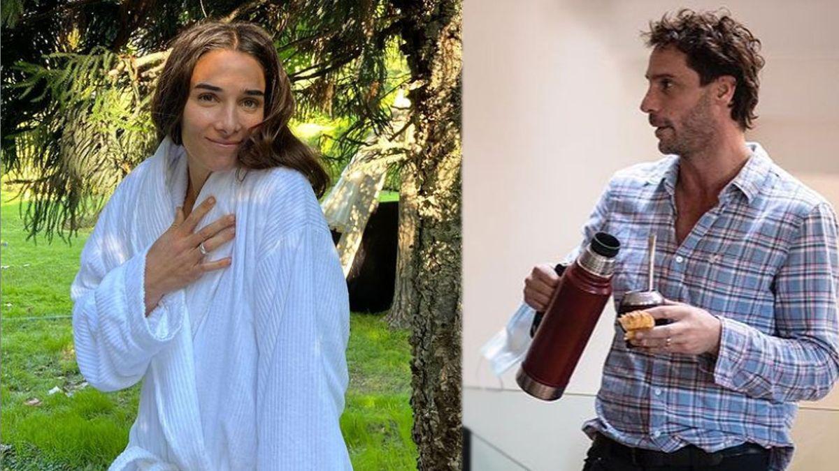 Juana Viale explicó por qué su ex se hospeda en su casa