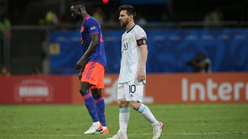 La derrota de Argentina nos lleva a conclusiones pesimistas de cara a lo que resta de la Copa América