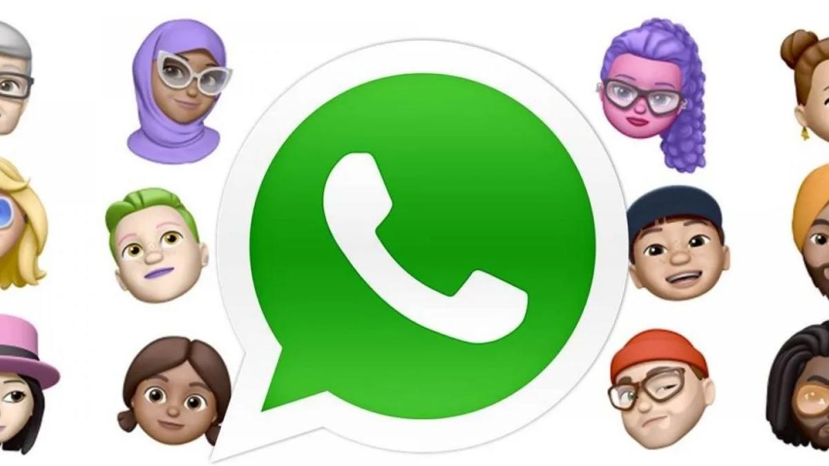 Truco para compartir stickers memoji en WhatsApp Web.
