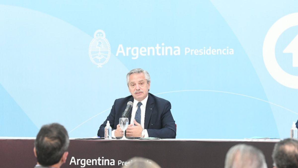 Alberto Fernández habló sobre la crisis en su gobierno.