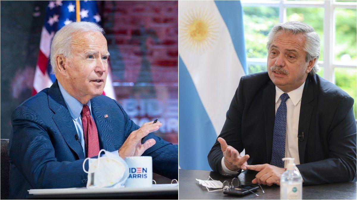 El presidente Alberto Fernández participará del foro sobre clima al que lo invitó Joe Biden.