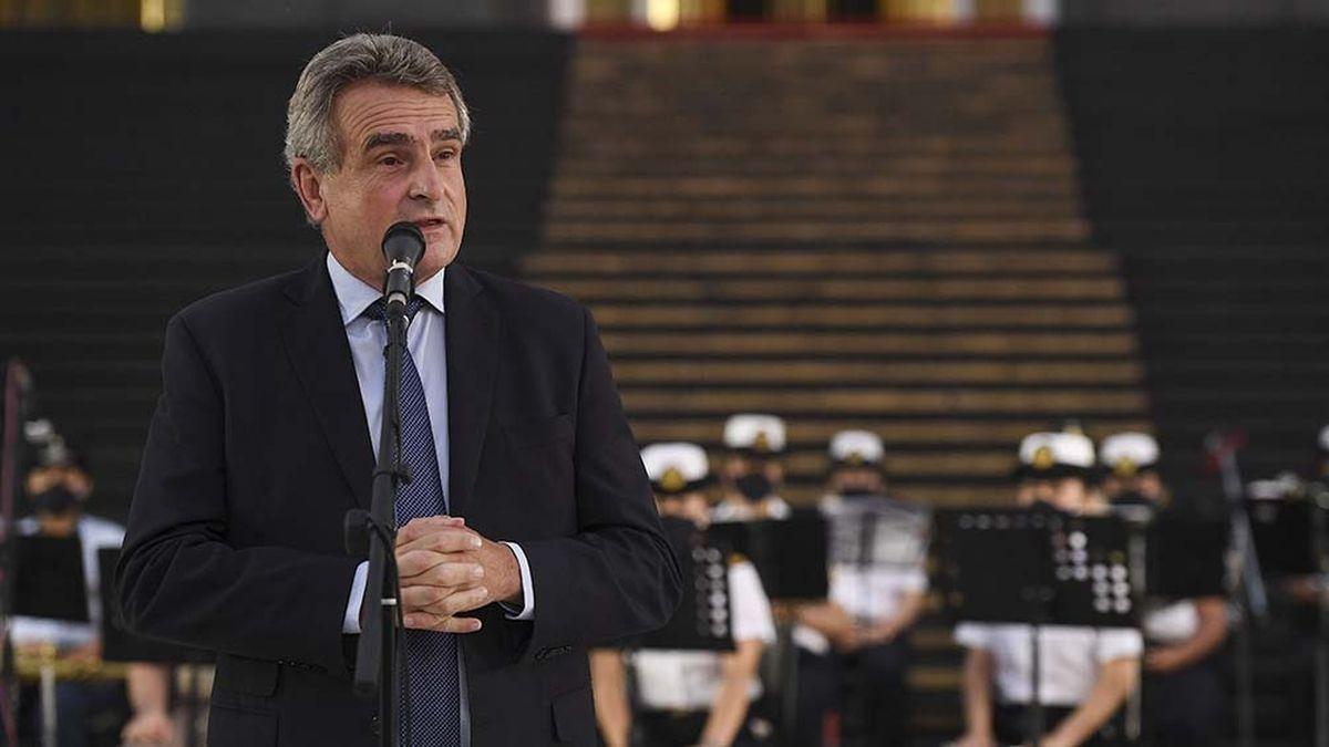 Agustín Rossi: Fue un error poner la cara del presidente en las elecciones del domingo