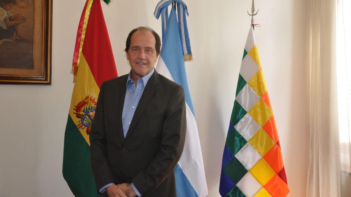El embajador argentino en Bolivia