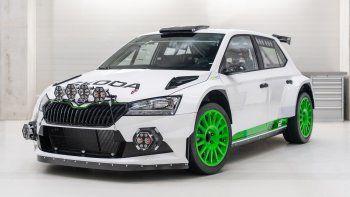 ŠKODA FABIA Rally2 evo Edition 120: ¡Listo para un Rally!