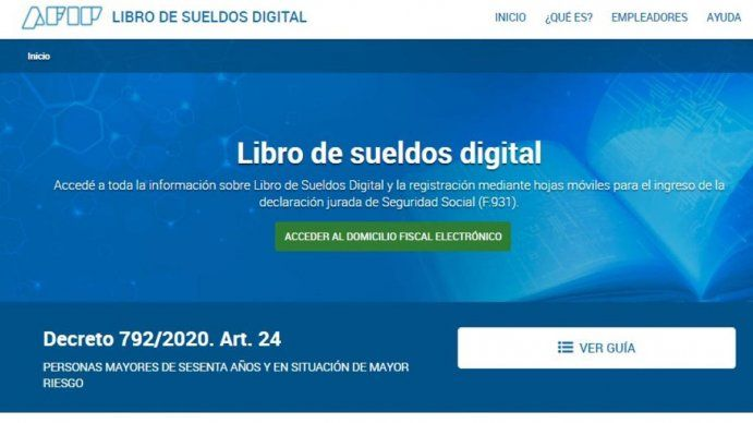 Cinco mil pymes tendrán que usar el Libro de Sueldos Digital