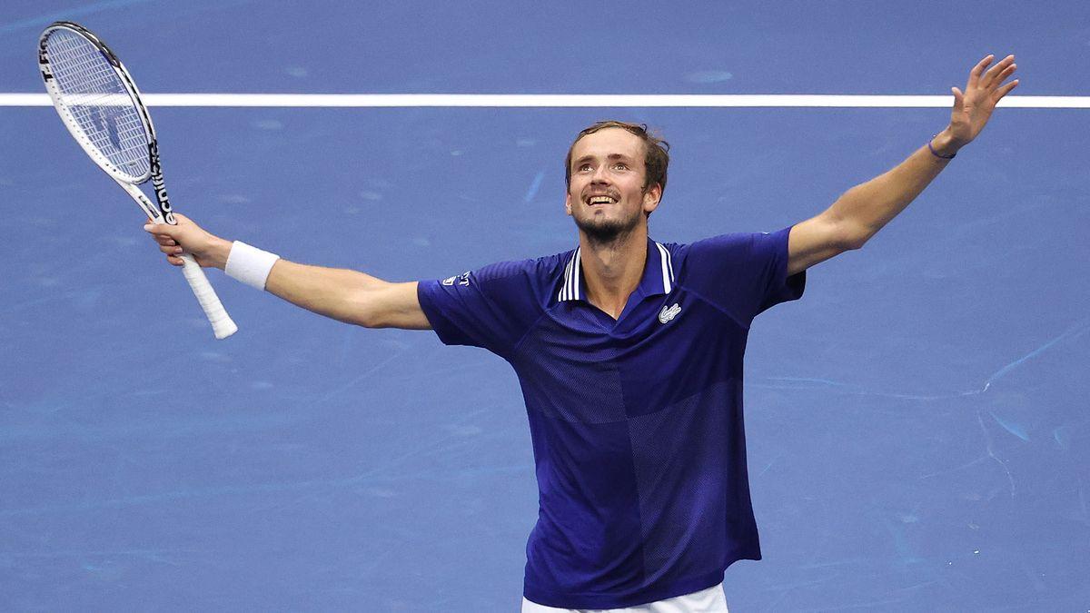 Medvedev campeón del US Open: pasó por arriba a Djokovic.