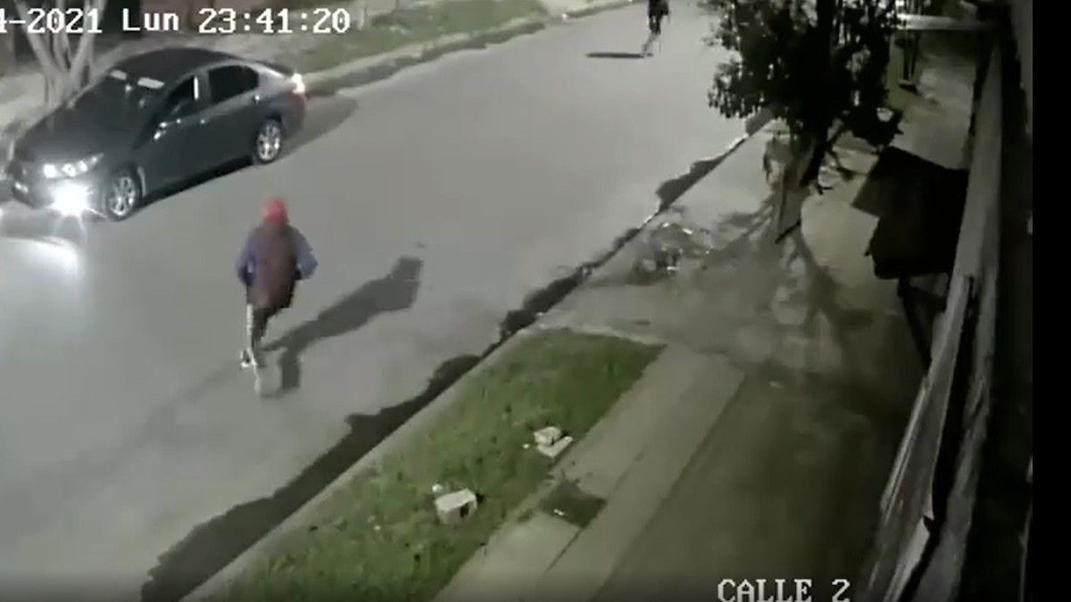 Video impactante. El momento previo al tiroteo en Laferrere.