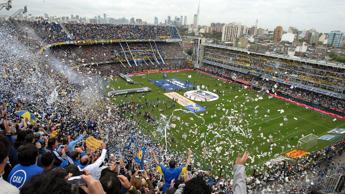 Los hinchas volverán a la cancha desde octubre con un 50% de aforo por estadio.