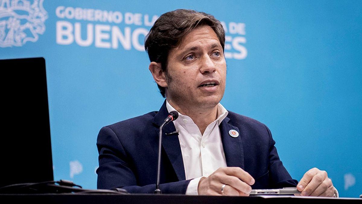 Kicillof anunció segunda dosis libre para mayores de 50 años en la provincia de Buenos Aires (Foto: Télam).