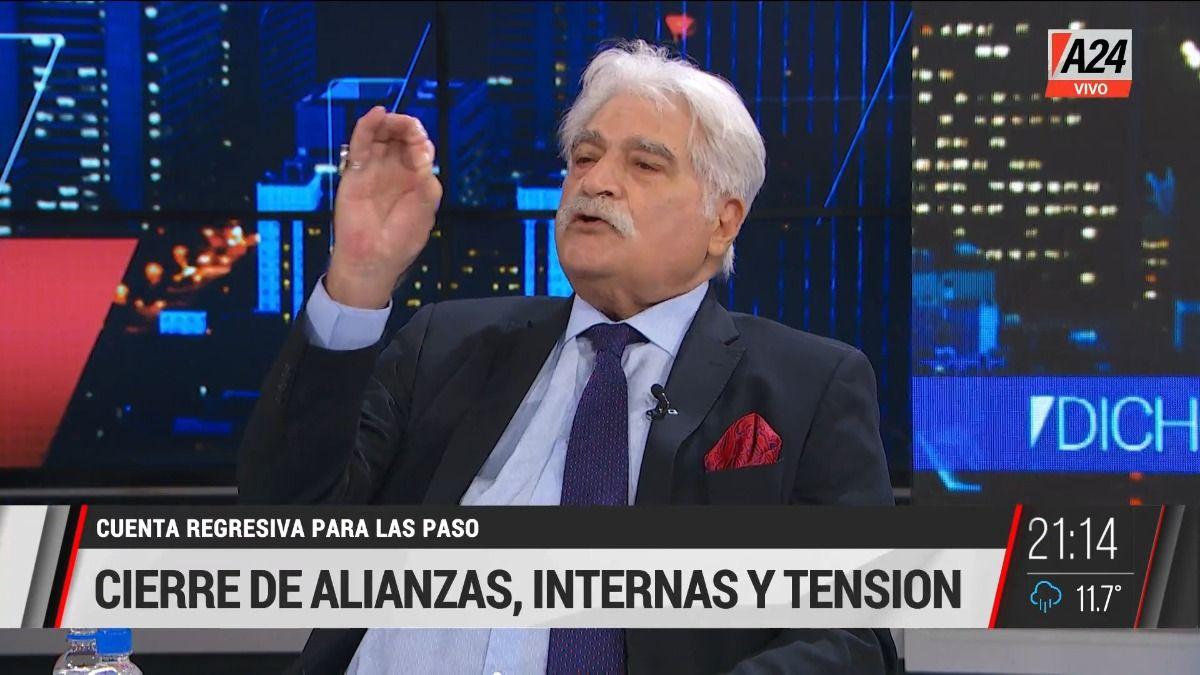 Jorge Asís con Luis Novaresio: En Juntos por el Cambio todavía ronda el fantasma de la unidad