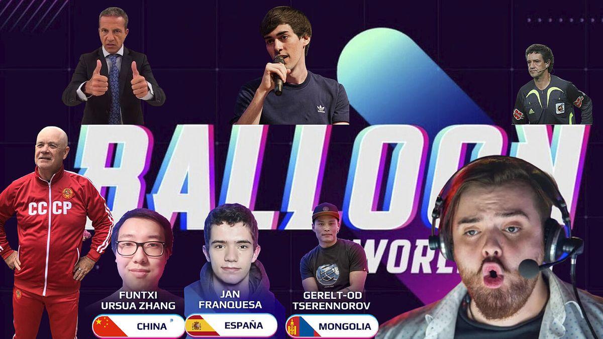 Mundial de globos: la locura de Ibai y Piqué que juntó 500 mil personas en Twitch