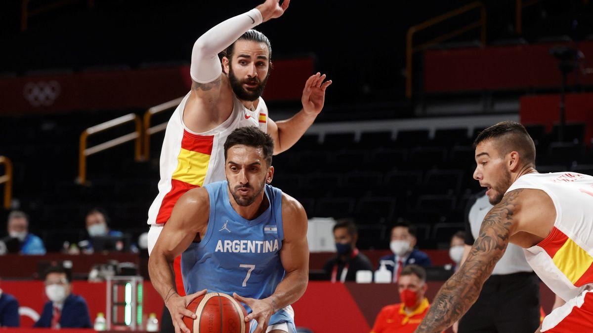 Argentina perdió ante España y suma dos derrotas en los Juegos Olímpicos.