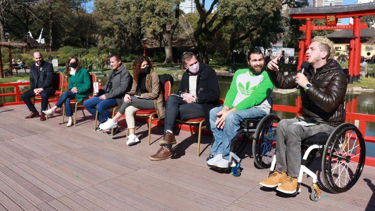 Se presentó en el Jardín Japonés la colección de cuentos infantiles sobre deportistas paralímpicos argentinos.