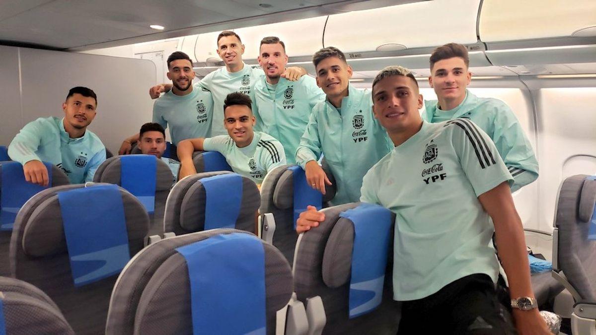 El seleccionado argentino