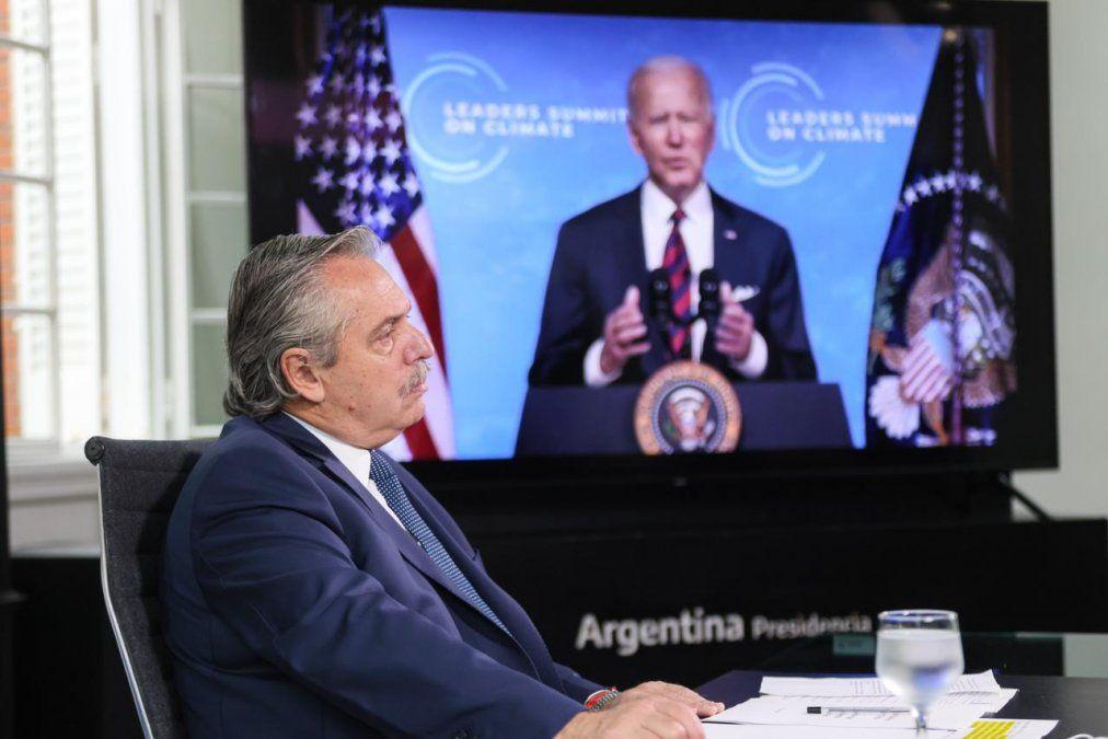 Ante Biden y 17 líderes de la Cumbre Climática